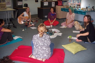 Mantra singing