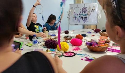 Dreamcatcher workshop (2)